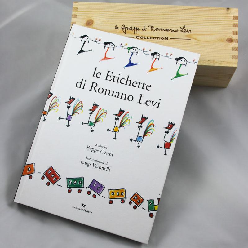 """Libro """"Le etichette di Romano Levi"""""""